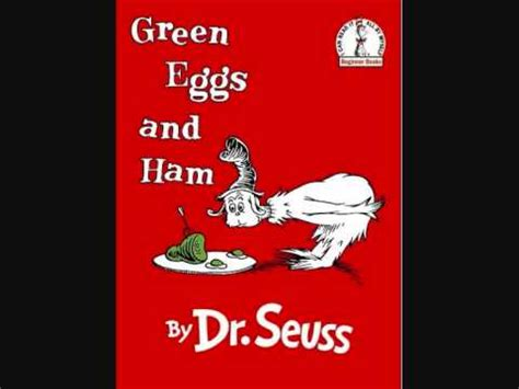 Green eggs and ham book report